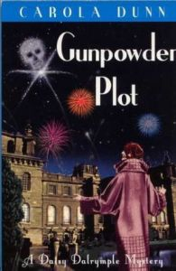 Cover of Gunpowder Plot by Carola Dunn.