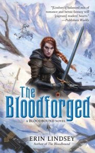 Cover of Bloodforged by Erin Lindsey.