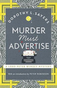 Cover of Murder Must Advertise by Dorothy L. Sayers