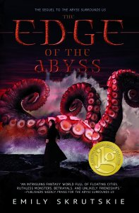 Cover of The Edge of the Abyss by Emily Skrutskie