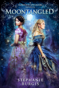 Cover of Moontangled by Stephanie Burgis