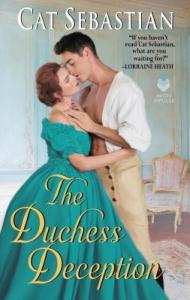 Cover of The Duchess Deception by Cat Sebastian