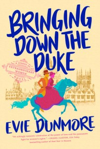 Cover of Bringing Down The Duke by Evie Dunmore