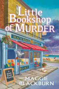 Cover of Little Bookshop of Murder by Maggie Blackburn