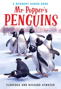 Cover of Mr. Popper's Penguins by Florence and Richard Atwater