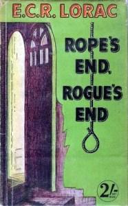 Cover of Rope's End, Rogue's End by E.C.R. Lorac