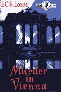 Cover of Murder in Vienna by E.C.R. Lorac
