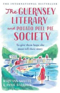 Cover of The Guernsey Literary and Potato Peel Pie Society by Mary Ann Shaffer and Annie Burrows