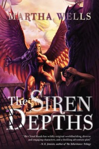 Cover of The Siren Depths by Martha Wells