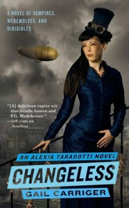 Cover of Changeless by Gail Carriger