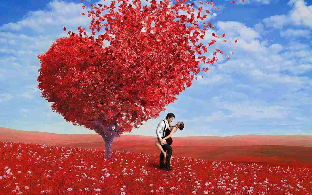 The divine love found its home in true souls.