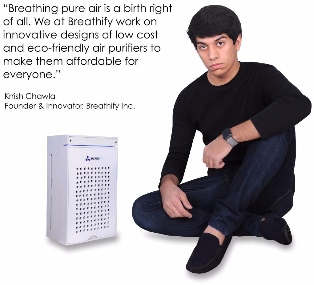 Krrish Chawla   Founder, Breathify