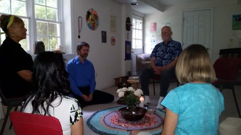 Breathing Heart Sangha sitting meditation