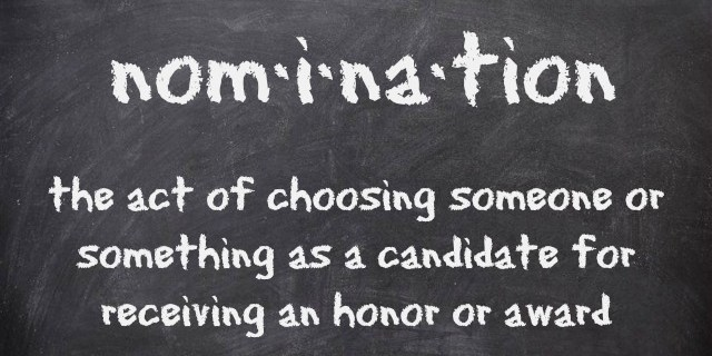 Chalkboard Nomination