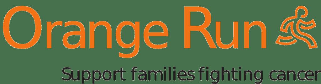 Orange Run logo transparent