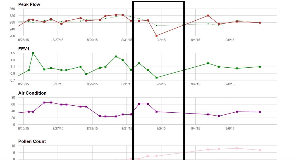 Pediatric Peak Flow Meter Normal Range