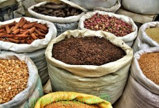 Round spice sacks