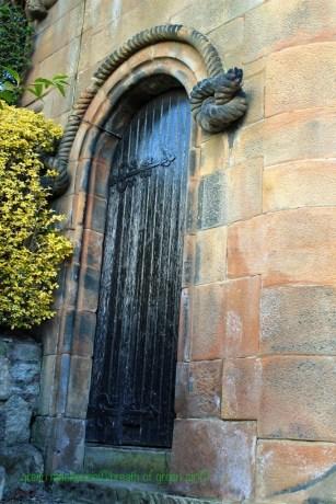 Doorway to Garden Clock