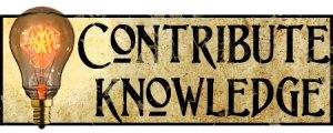Contribute Knowledge