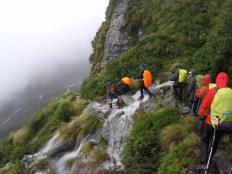 Crossing some falls