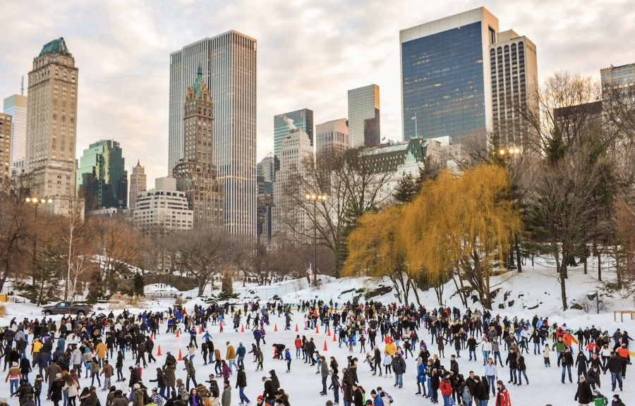 new york in inverno