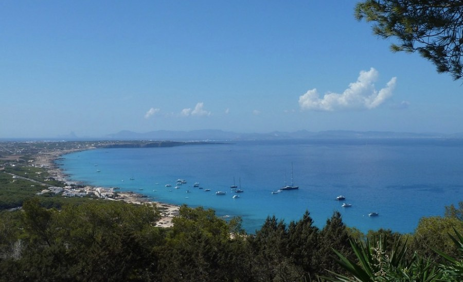 weekend a formentera in autunno