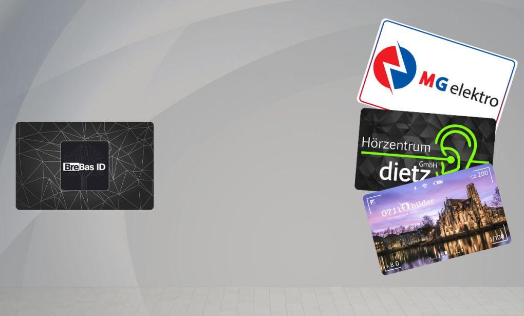 Gegenüberstellung von Standard ID mit drei Ultimate ID's