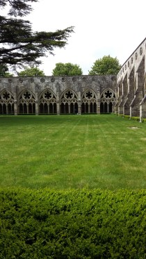 Cloisters at Salisbury Cathedral