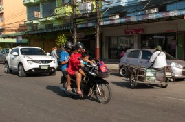 Family transport Ranong style