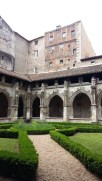 The cloisters at Cathedral St Etienne, Cahors