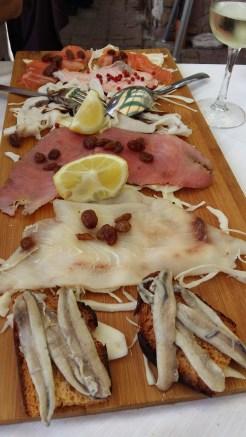 Sea food of course