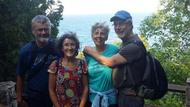 Mike, Susan, Pat and Robin