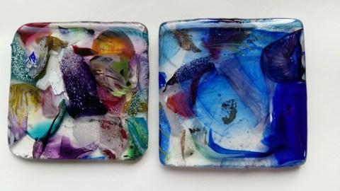 Our glass coasters, Devon