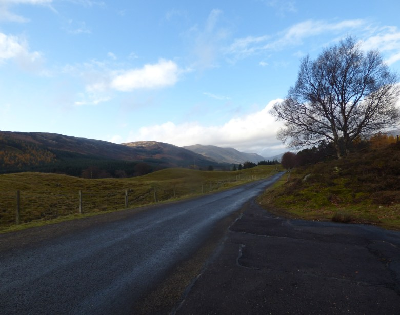 Glen Clova on the morning of the race