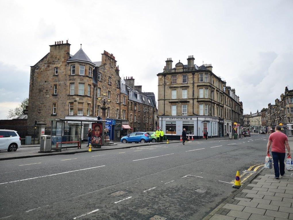 Empty street near the High Street