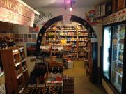 The Wine Cellar on Market St Full of local beer and wine and great people.