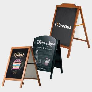 Brectus Pavement Board Chalkboard