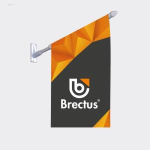 Brectus kiosk flags
