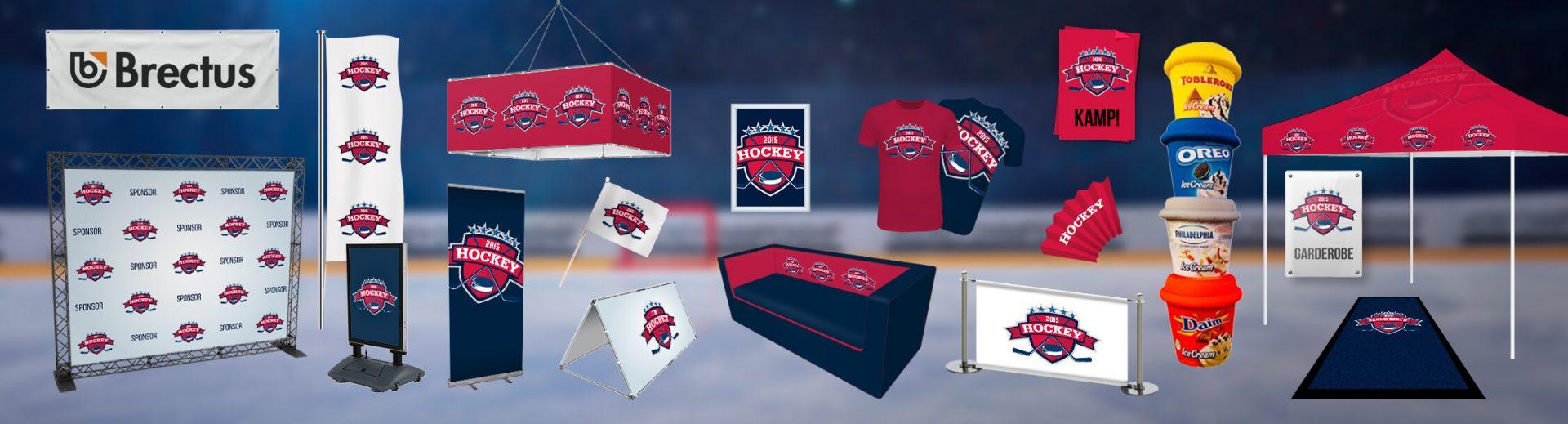Ice Hockey Brectus Arena Advertising