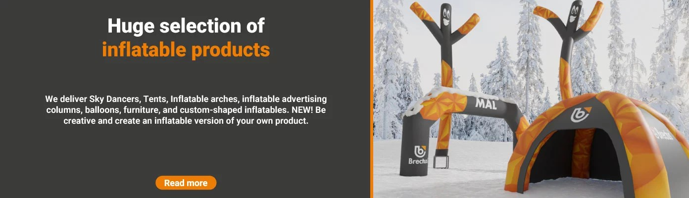 Brectus news - inflatable products!