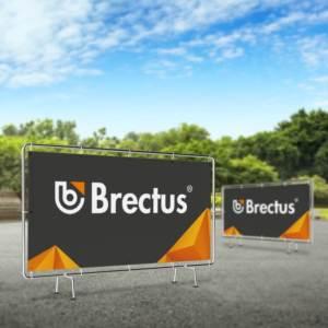 Banner til hegn fra Brectus