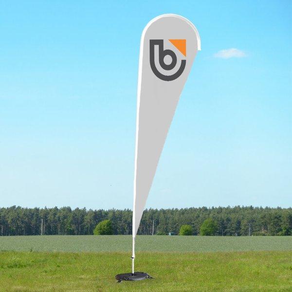 Beach Flag med tryk 5