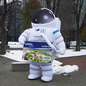 Oppustelig Dragt astronaut