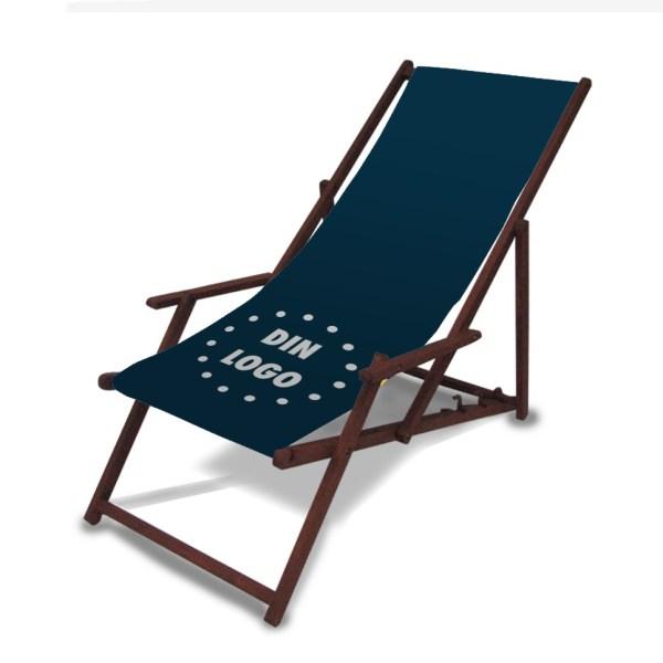 Strandstol med tryk 2