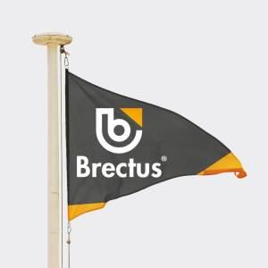 Vimpel med tryk fra Brectus