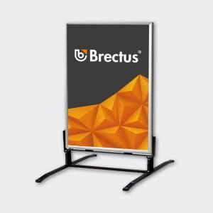Gadeskilt Wind-Sign Alu fra Brectus