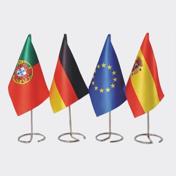 Bordflagg fra Brectus, Bordfaner, standardflagg, bordvimpler
