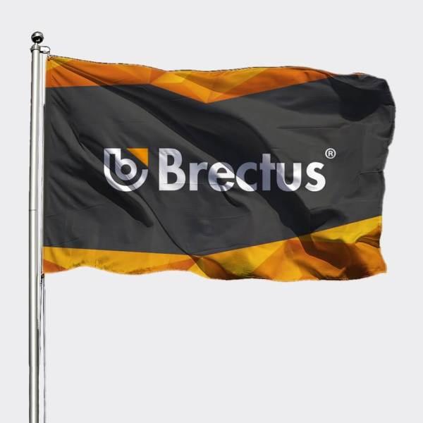 Flagg med trykk, flagg med logo, reklameflagg, flaggkroker, logoflagg