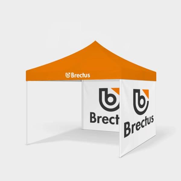 Brectus Messetelt, popup telt