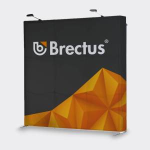 Messevegg Popup Rett fra Brectus